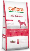 Calibra Dog Grain Free Adult Small Breed Duck 7kg