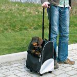 Tbag ELEGANCE batoh/vozík na kolečkách 36x50x27cm do 8kg, Trixie