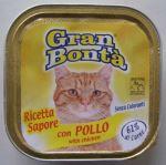 GRAN BONTA paštika s kuřecím masem pro kočky 100g
