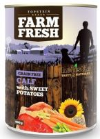 Topstein Farm Fresh Calf with Sweet Potatoes 800g