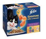 Felix Sensations výběr v ochuceném želé s jehněčím, makrelou, treskou, krůtou 12x100g