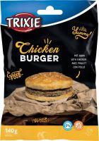 Chicken Burger, kuřecí hambuger -  buvolí kůže, 9cm, 140g