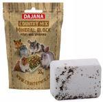 Dajana COUNTRY MIX, Mineral block fruit & vitamins, ovocný minerální kámen pro hlodavce