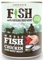 Topstein Fish with Chicken and Beef Meat 800g