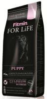 Fitmin dog For Life Puppy 15kg + obojek FORESTO 70cm