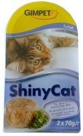 Gimpet Shiny cat konzerva - tuňak 2x70g