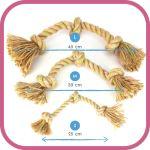 Beco Jungle Triple Knot lano EKO-lano