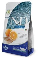 N&D OCEAN CAT Grain Free Adult Herring & Orange 300g