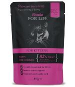Fitmin for Life masová kapsička pro kočky Kitten Chicken 85g