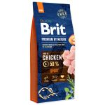 BRIT Premium by Nature Sport 15kg - POŠKOZENÝ OBAL