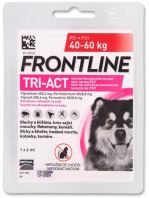 Frontline TRI-ACT spot-on dog XL pro psy 40-60kg (1x6ml)
