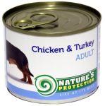 Nature's Protection Dog konz.Adult kuře/krůta 200g