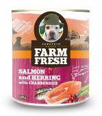 Topstein Farm Fresh Salmon & Herring with Cranberries 750g