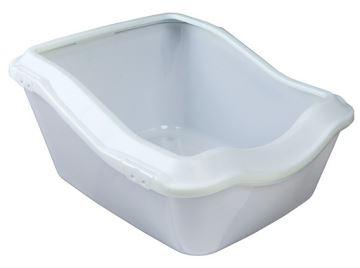WC s okrajem, zvýšená zadní část, Trixie bílá