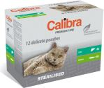 Calibra Cat kapsa Premium Sterilised multipack 12x100g