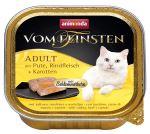 Paštika ANIMONDA Vom Feinsten CORE krůta, hovězí maso + mrkev pro kočky 100g