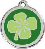 Známka - Čtyřlístek - Zelená