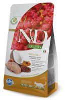 N&D Grain Free Quinoa CAT Skin & Coat Quail & Coconut 300g