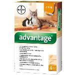 Advantage 40 10% 4x0,4ml pro kočky a králíky do 4kg