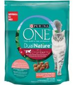Purina ONE GK Dual Nature Sterilized Brusinka s lososem 750g