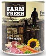 Topstein Farm Fresh Sheep and Duck with Carrot 800g