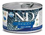 N&D DOG OCEAN Adult Trout & Salmon Mini 140g