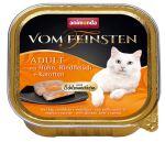Paštika ANIMONDA Vom Feinsten CORE kuřecí, hovězí maso + mrkev pro kočky 100g
