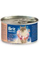 Brit Premium Cat by Nature konzerva Chicken&Rice 200g