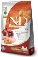 N&D Grain Free Pumpkin DOG Adult Mini Chicken & Pomegranate 2,5kg