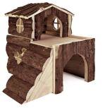 Domek pro křečky, 2 místnosti 15x15x16cm, Trixie
