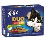 Felix Fantastic Duo masový výběr a zelenina 12x85g
