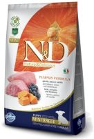 N&D Grain Free Pumpkin DOG Puppy Mini Lamb & Blueberry 800g