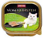Paštika ANIMONDA Vom Feinsten CORE krůta, kuřecí prsa + bylinky pro kočky 100g