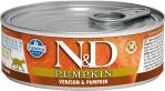 N&D CAT PUMPKIN Adult Venison & Pumpkin 80g - 1 + 1 ZDARMA