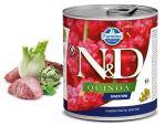 N&D DOG QUINOA Adult Digestion Lamb & Fennel 285g