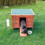 Dřevěný domek NATURA morče, králík 42x43x51cm, Trixie