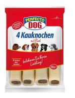Perfecto Dog Plněná žvýkací tyčinka hovězí 4ks 180g