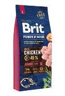 BRIT Premium by Nature Junior L 15kg + obojek FORESTO 70cm