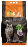 Bio Kitty hrudkující podestýlka pro kočky Lavender 5l