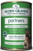 Arden Grange konzerva Partners Dog Lamb Rice 395g