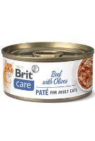 Brit Care Cat konz  Paté Beef&Olives 70g