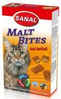 SANAL Maltbits - Anti-hairball proti bezoárům 75g