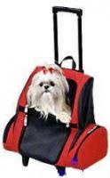 Transportní batoh na kolečkách pro psa 35x26x42 (do 10kg)