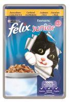 Felix cat kapsička Fantastic Junior kuře v želé 100g