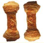 Buvolí uzel celoobalený - Kuře 6,5cm - 15ks