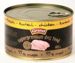 GRAND konzerva Superpremium pes drůbeží 405g