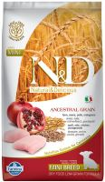 N&D Low Grain DOG Puppy Mini Chicken & Pomegranate 7kg