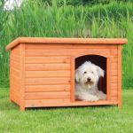 Bouda pro psa dřevěná L, rovná střecha 104x72x68 cm Trixie