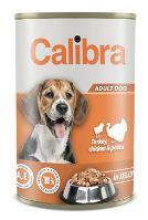 Calibra Dog konzerva Turk,chick&pasta in jelly 1240g NEW