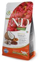 N&D Grain Free Quinoa CAT Skin & Coat Herring & Coconut 300g